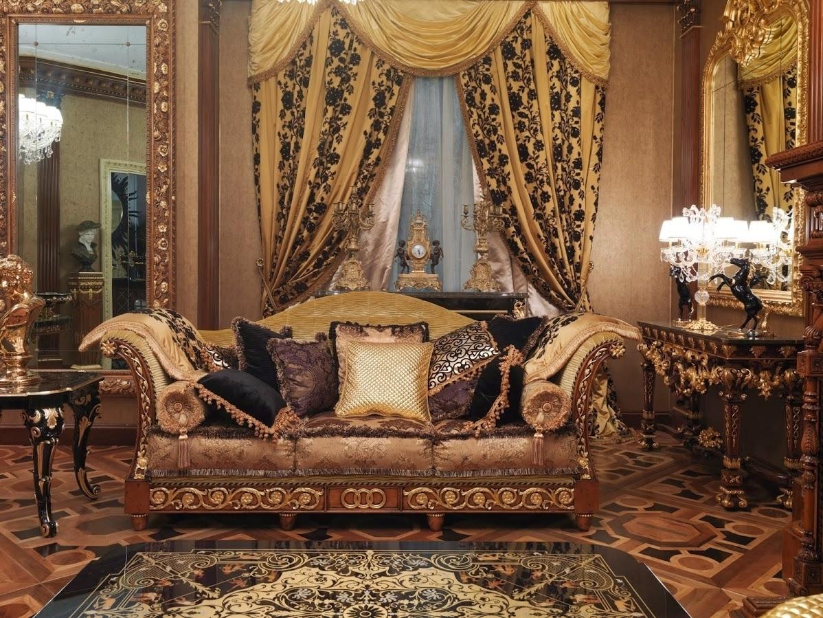 1 Empire Style High End Sofa. Handmade In Europe. Regarding High End Sofas (Gallery 4 of 10)