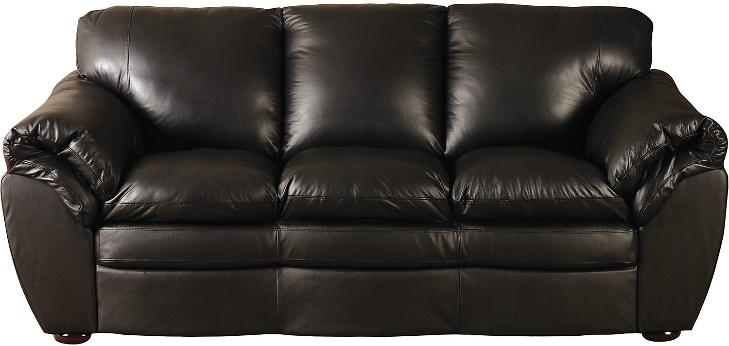 100 Genuine Leather Couch • Leather Sofa In The Brick Leather Sofas (View 2 of 10)
