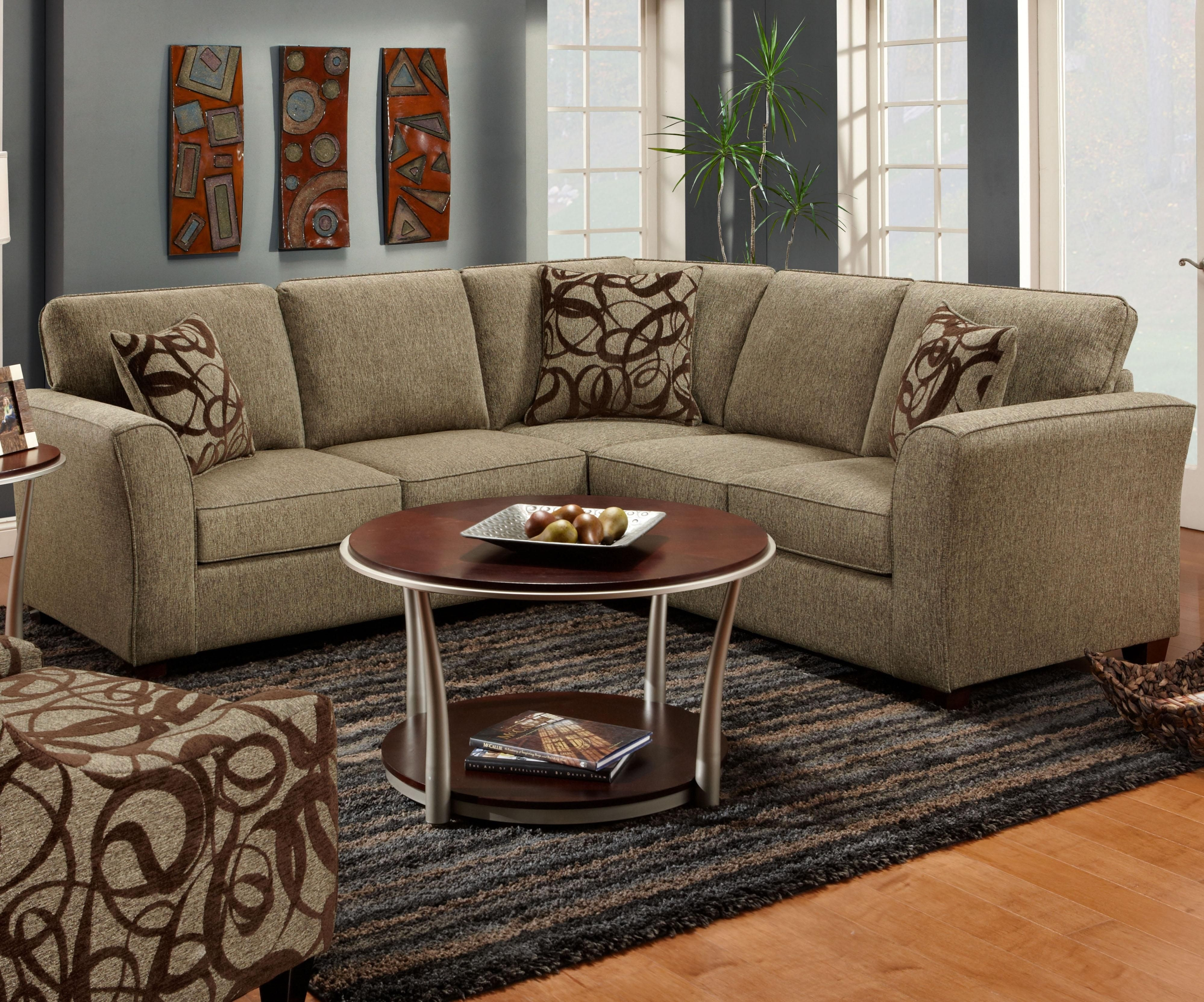1295-1296 2-Piece Sectional Sofafusion Furniture | For The Home intended for Jackson Ms Sectional Sofas (Image 1 of 10)
