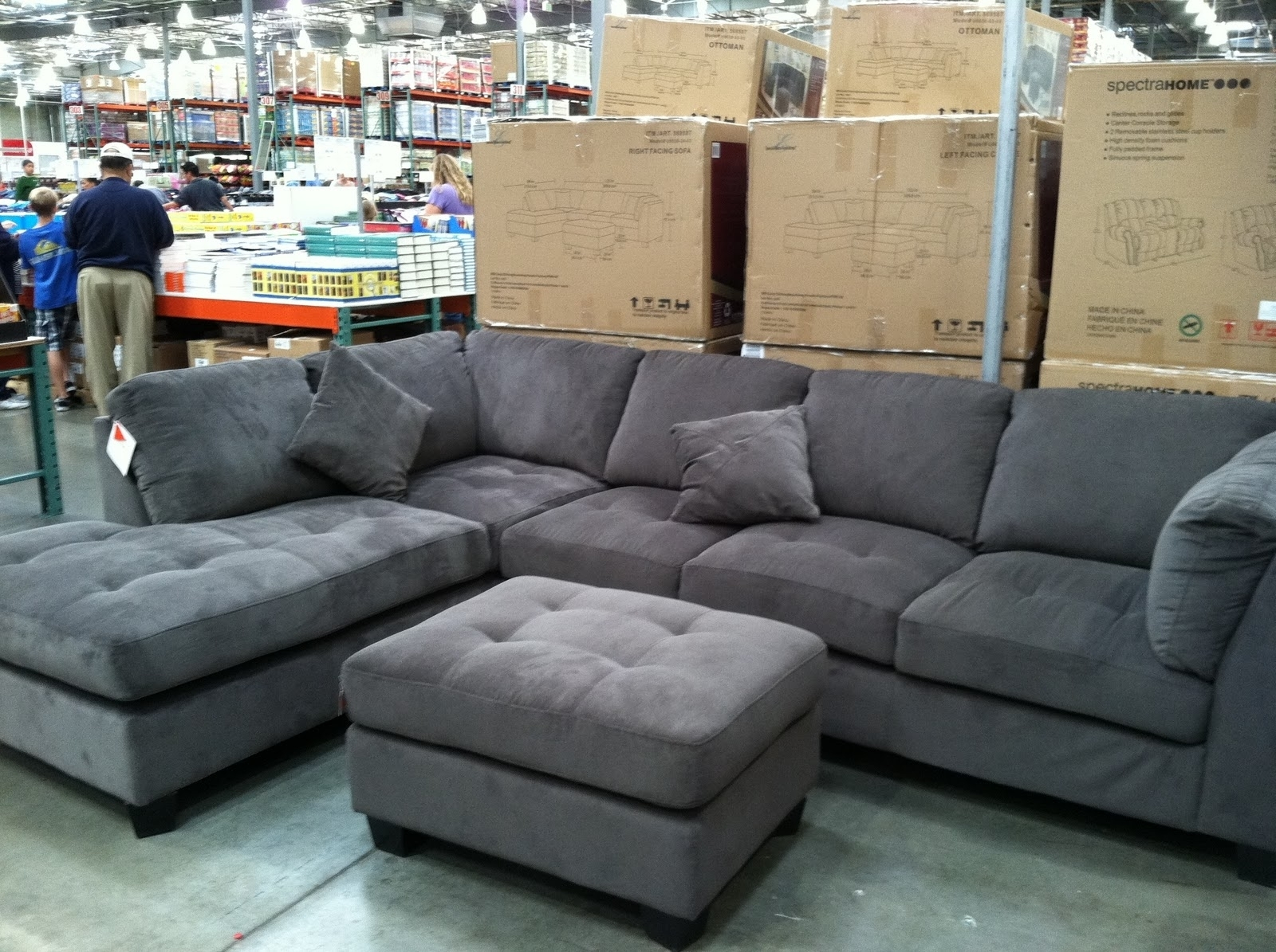 15 Best Collection Of Gray Sectional Sofa Costco Intended For Sectional Sofas At Costco (View 1 of 15)