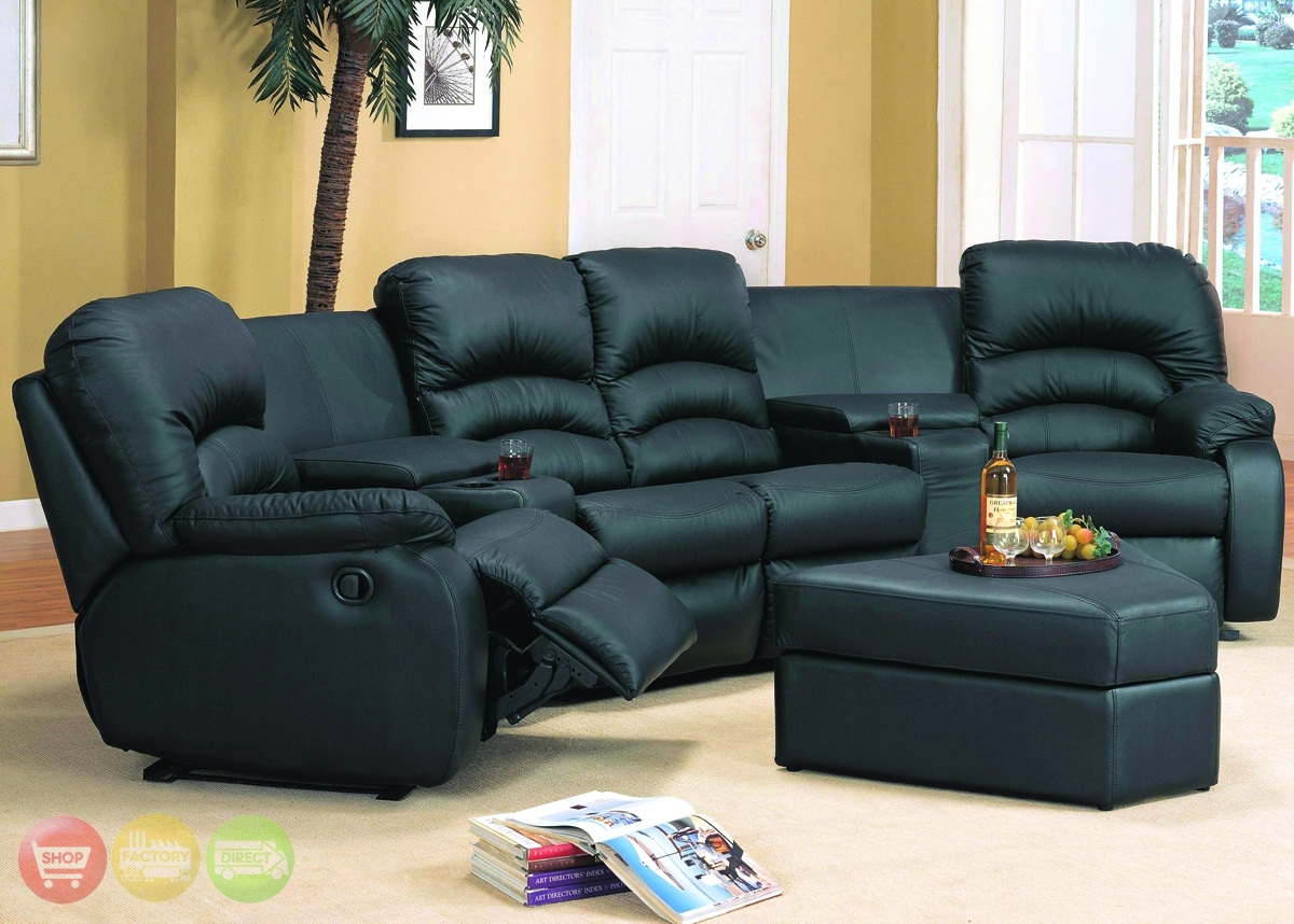 16 Theater Sectional Reclining Sofa | Carehouse Throughout Ventura County Sectional Sofas (Photo 6 of 10)