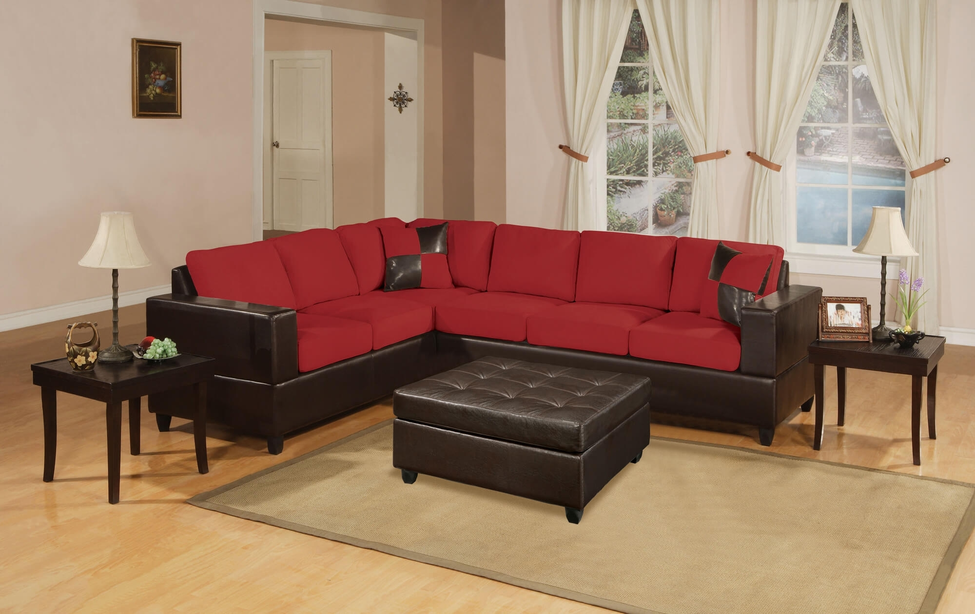 18 Stylish Modern Red Sectional Sofas regarding Red Sectional Sofas (Image 2 of 10)