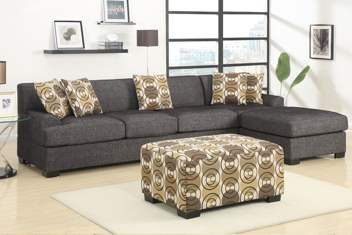 2 Piece Sectional Sofa With Chaise Design | Homesfeed with regard to Sectional Sofas With 2 Chaises (Image 1 of 10)
