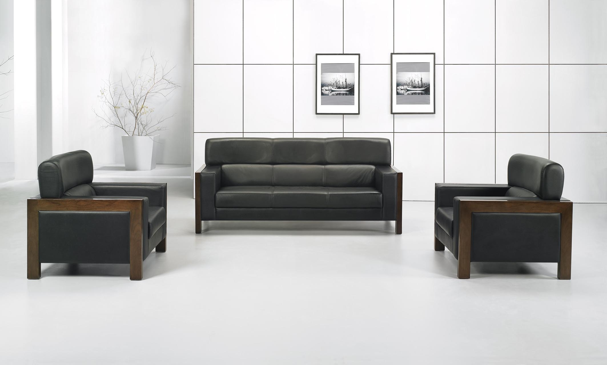 2 Sofa For Office | Carehouse inside Office Sofas (Image 1 of 10)