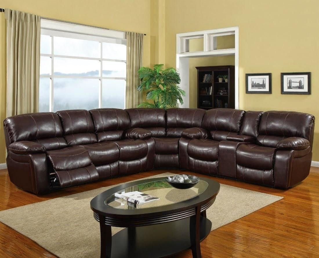 10 Best Collection of Jedd Fabric Reclining Sectional Sofas