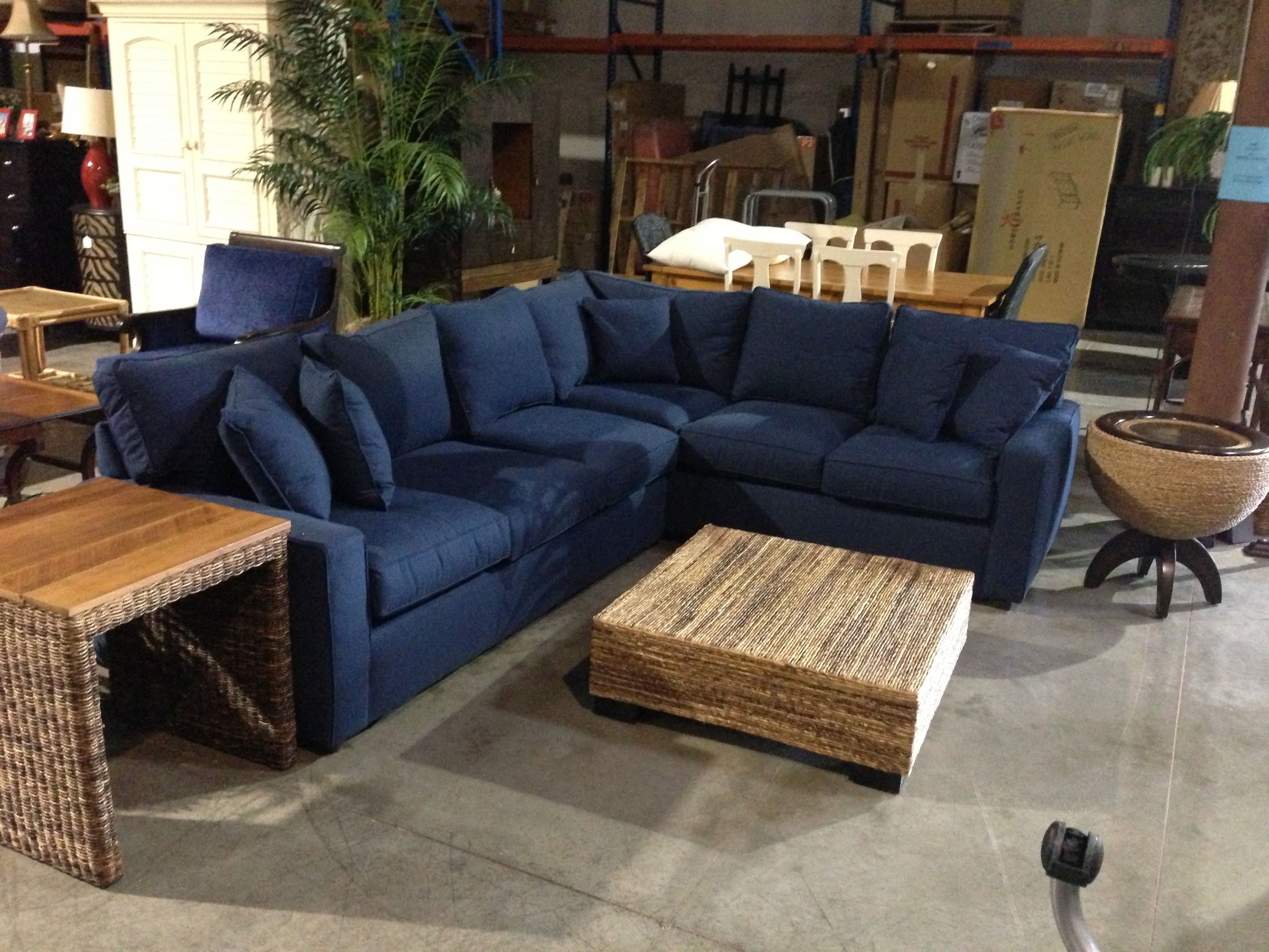 20 Inspirations Of Navy Blue Sectional Sofa throughout Blue Sectional Sofas (Image 1 of 15)