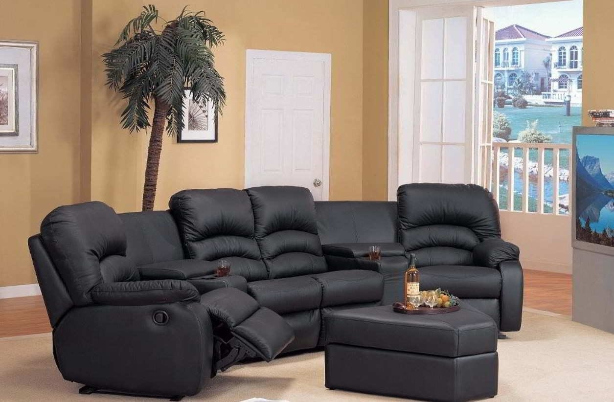 2018 Reclining Sectional Sofas - The Best Comfort With Dual within Sectional Sofas For Small Areas (Image 1 of 10)