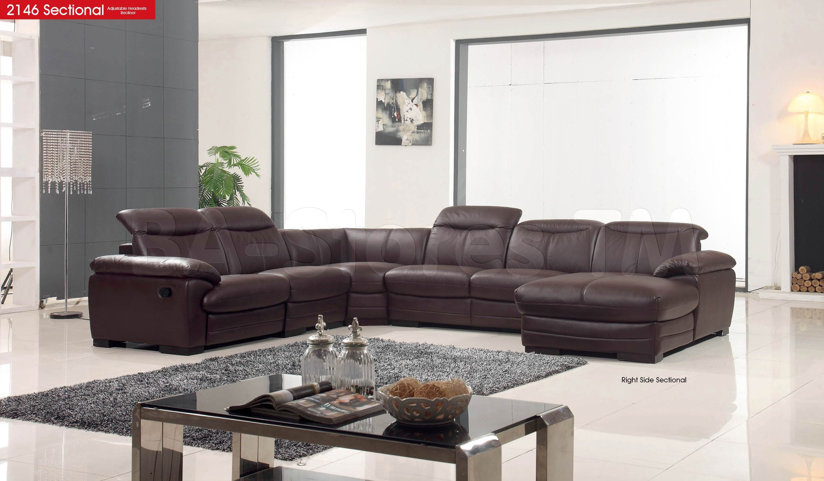 2146 Sectional Sofa - $4,100.00 : Furniture Store Shipped Free In pertaining to Nj Sectional Sofas (Image 1 of 10)