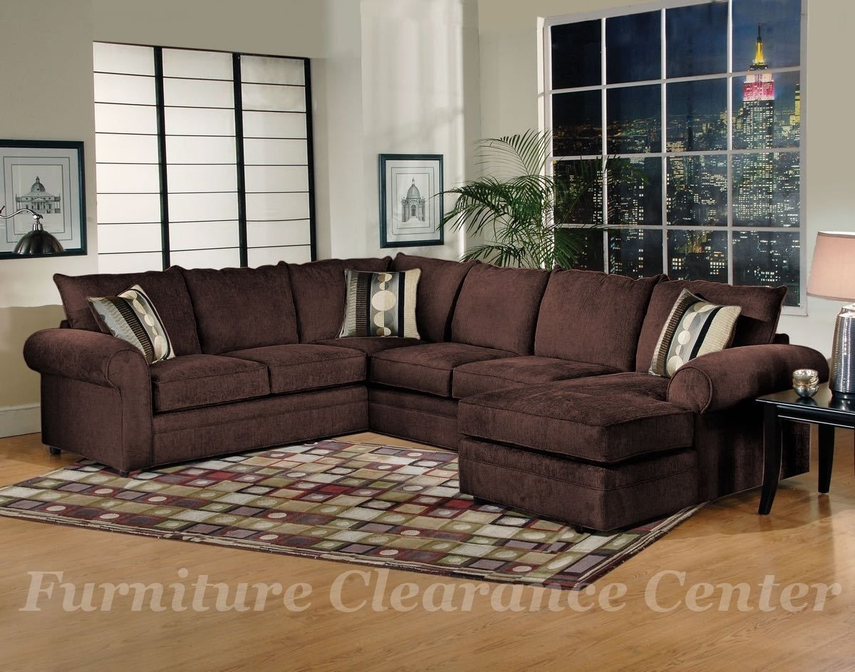 3 Piece Sectional Sofa In Sidekick Fudge $1199.00 Left Facing Sofa Intended For Greensboro Nc Sectional Sofas (Photo 7 of 10)