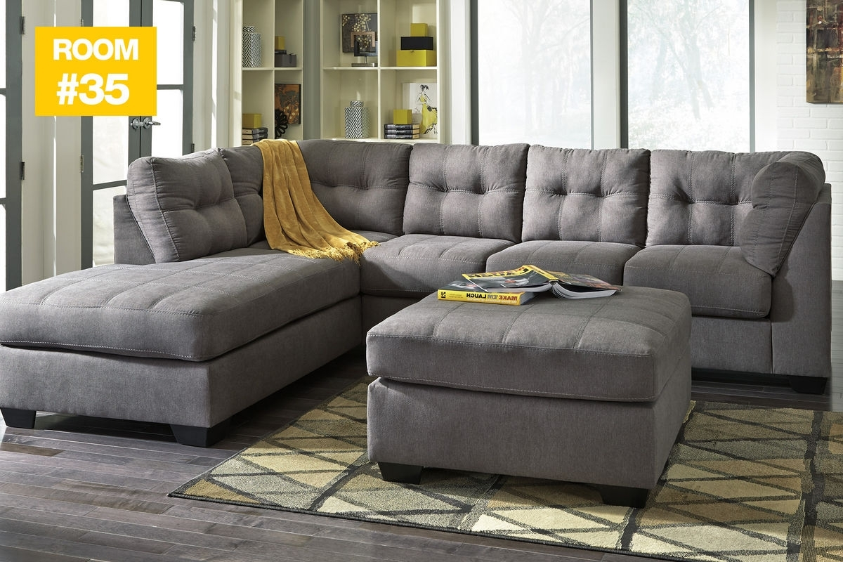 35 - Malo Sectional + Ottoman At Gardner-White intended for Sectionals With Ottoman (Image 2 of 15)