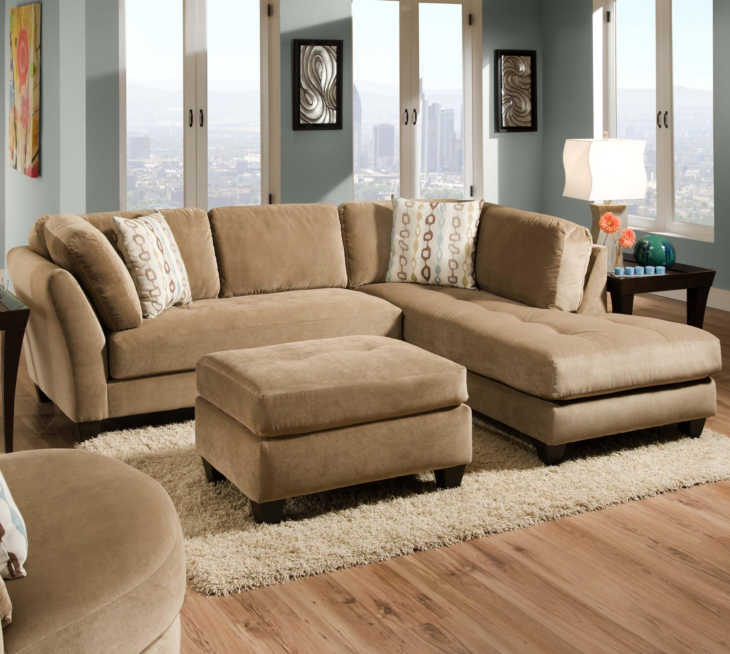 35B Slugger Mocha 2 Piece Sectionalcorinthian - Great American pertaining to Memphis Tn Sectional Sofas (Image 2 of 10)