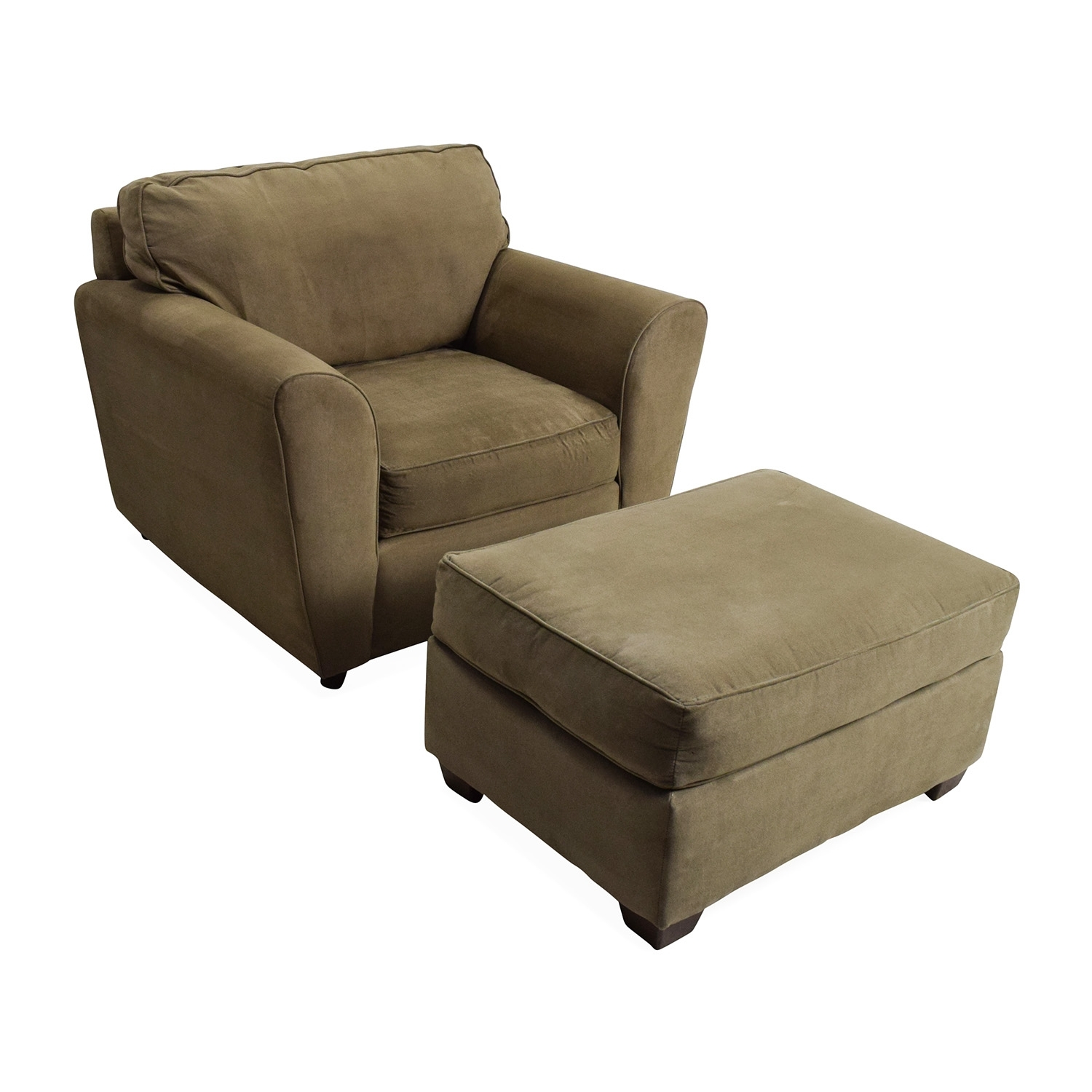 56% Off - Bauhaus Bauhaus Armchair With Ottoman / Chairs inside Chairs With Ottoman (Image 1 of 15)