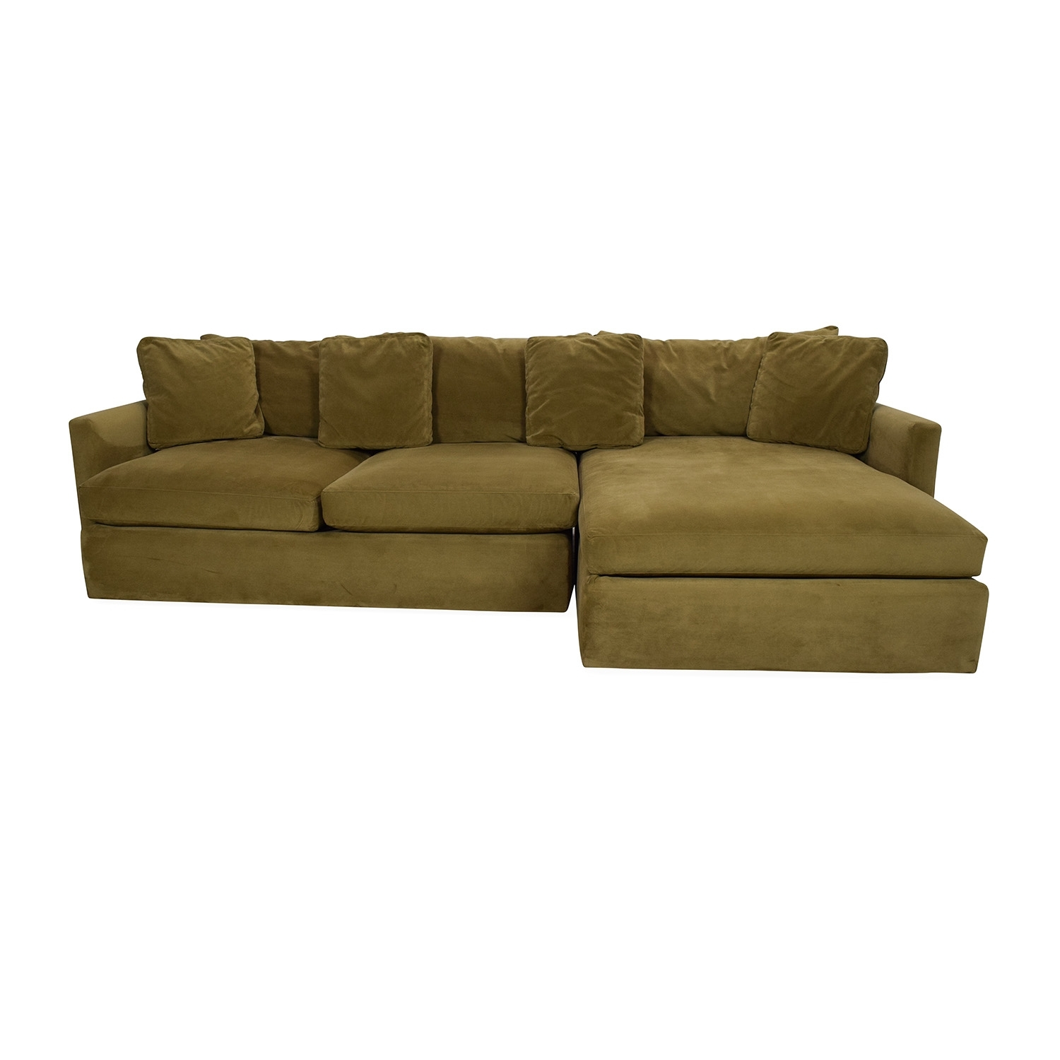 65% Off   Crate And Barrel Crate And Barrel Lounge Ii Sectional Sofa Inside On Sale Sectional Sofas (Photo 9 of 10)