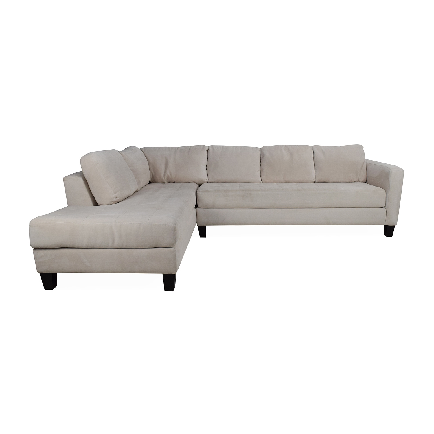 65% Off - Macy's Macy's Milo Fabric Microfiber Sectional / Sofas for Macys Sectional Sofas (Image 3 of 10)