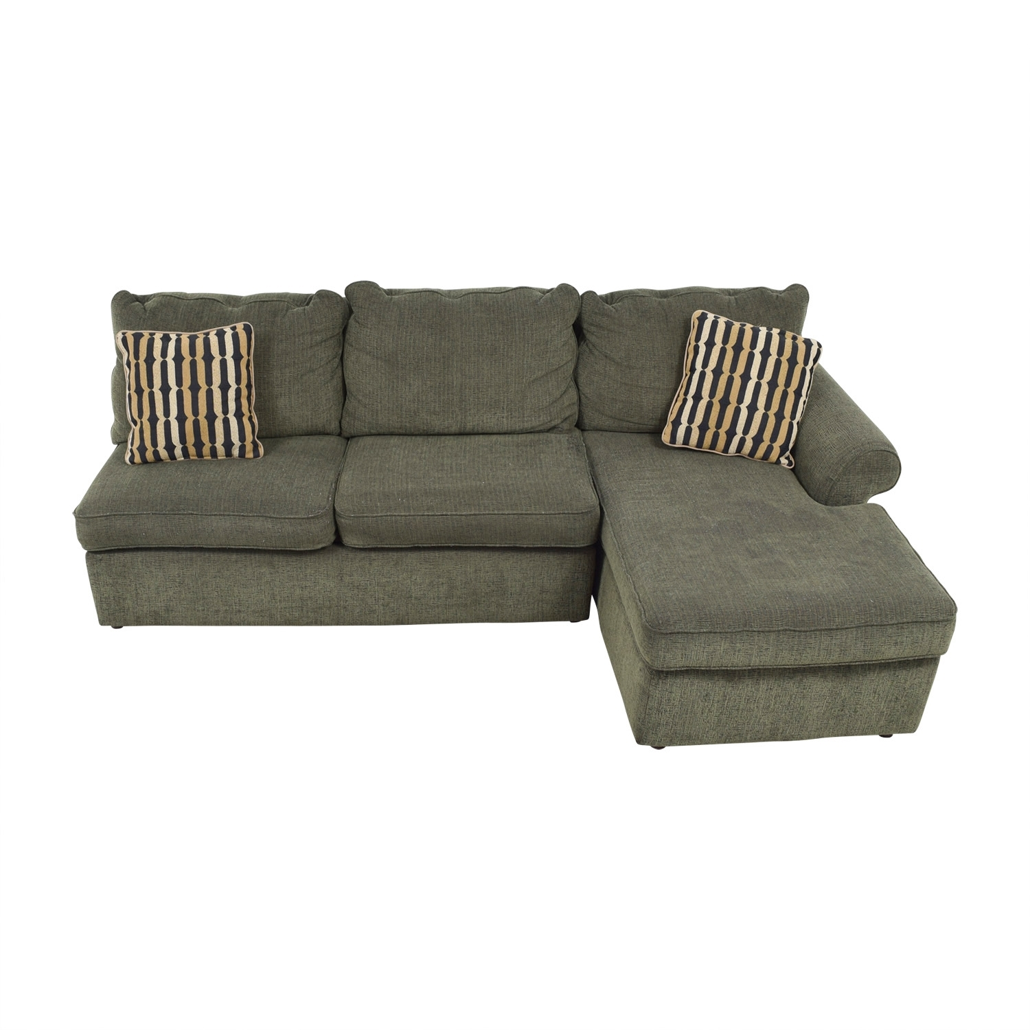 67% Off   Ikea Ikea Pink Kivik Chaise Sectional / Sofas With Used Sectional Sofas (Photo 10 of 10)
