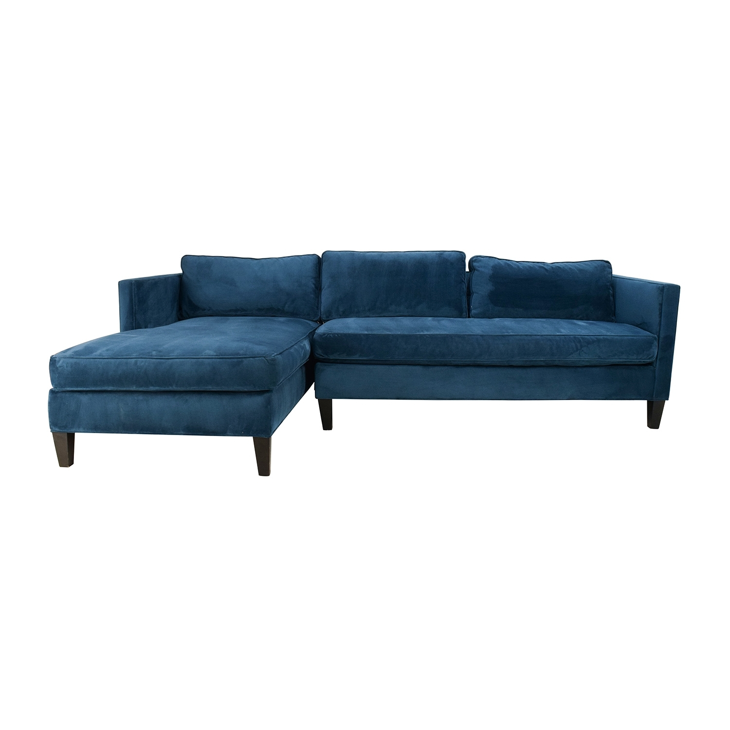 67% Off   West Elm West Elm Dunham Sectional Sofa / Sofas Throughout West Elm Sectional Sofas (Photo 9 of 10)