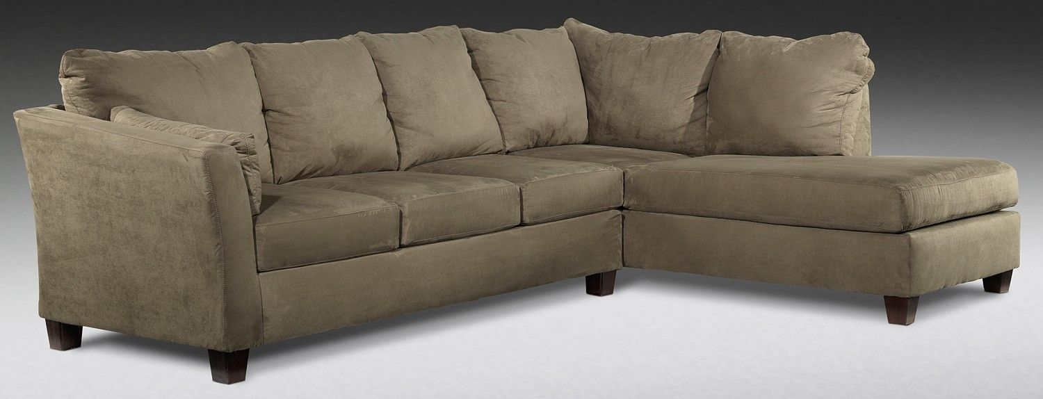 $899 Prairie Upholstery 2 Pc. Sectional - Leon's Free Delivery with regard to Leons Sectional Sofas (Image 1 of 10)