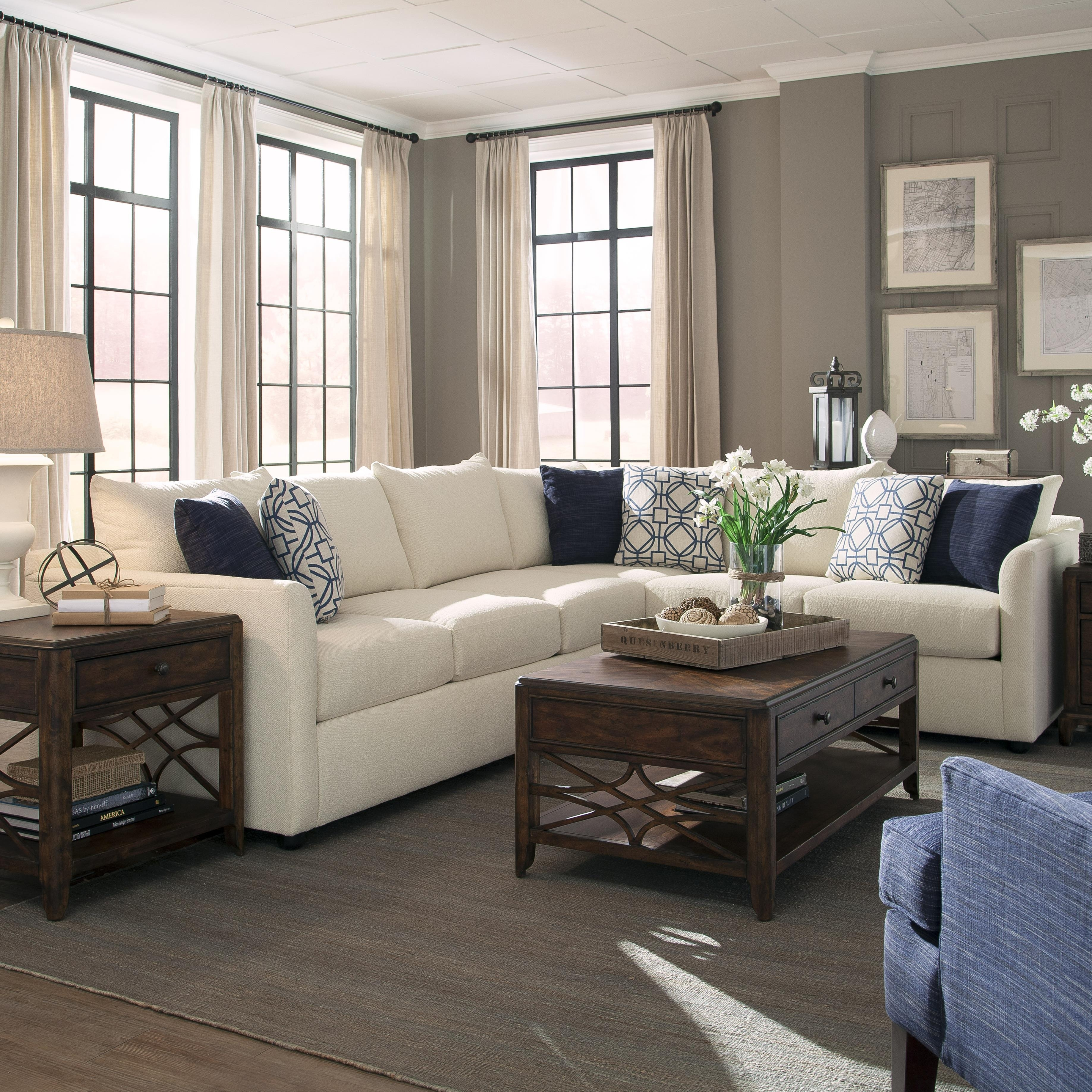 A Beautiful 2 Piece Sectional From Trisha Yearwood's Home Collection Intended For Sectional Sofas At Atlanta (View 1 of 15)