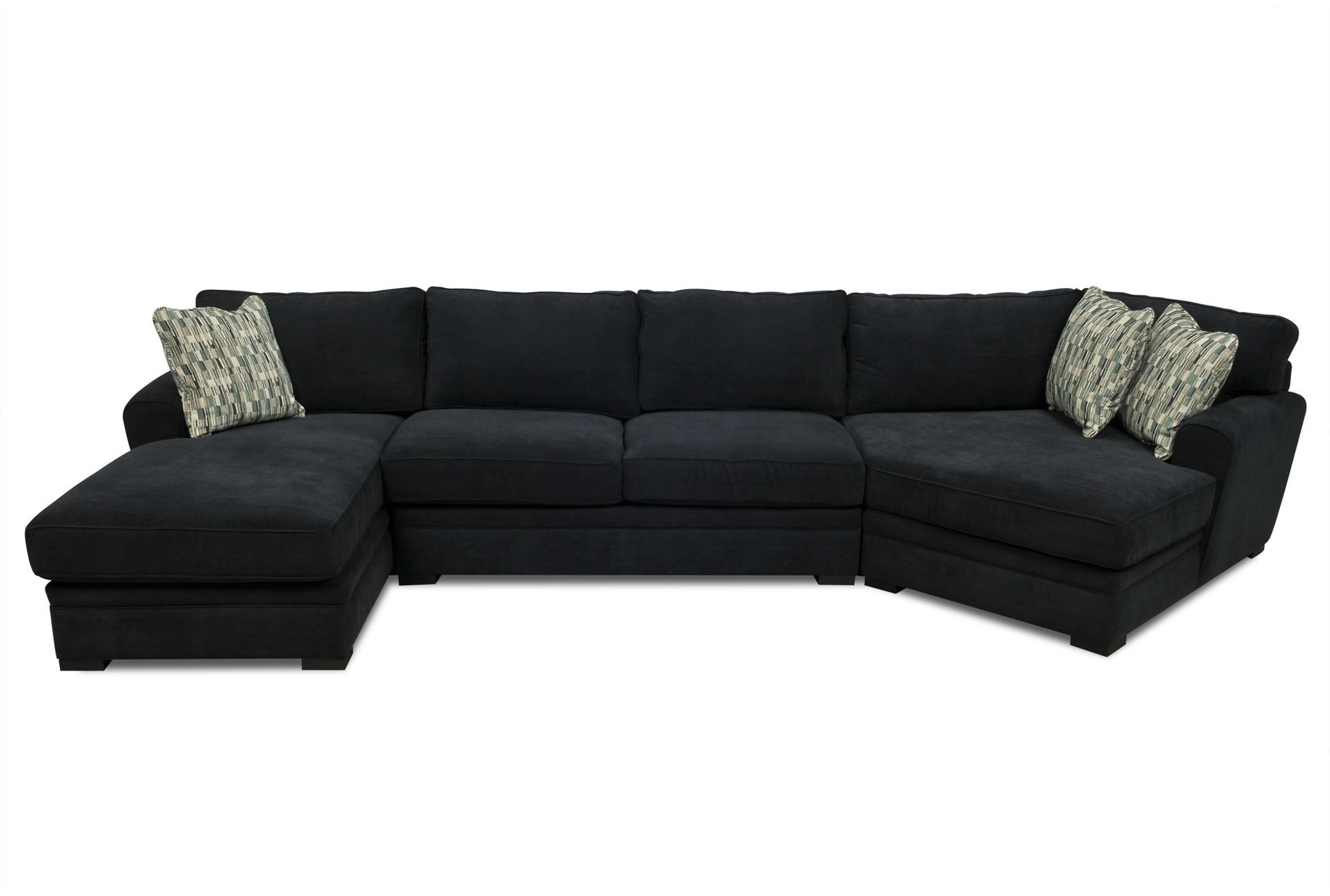 15 ideas of sectional sofas at aarons for Large 3 piece sectional sofa