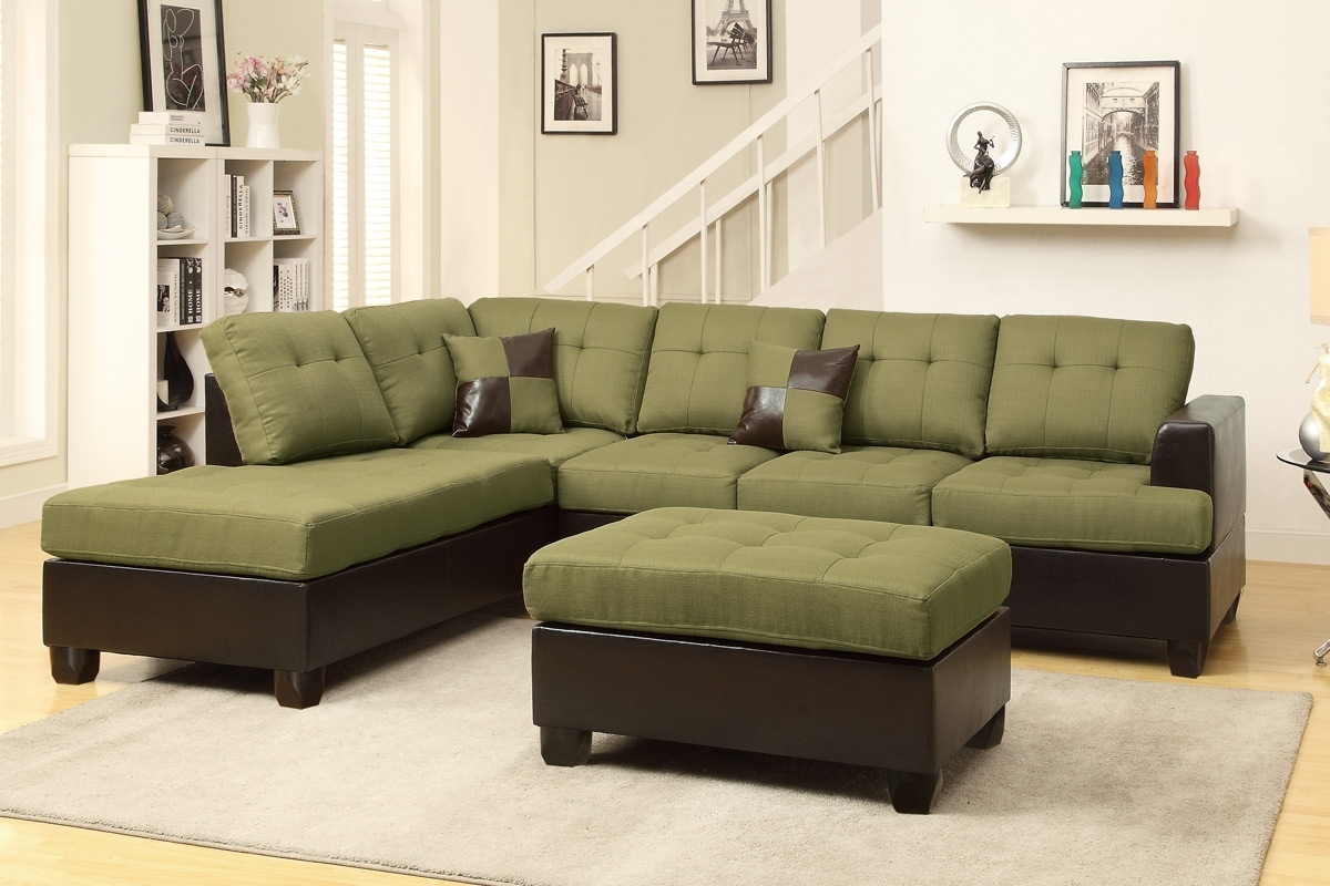 Featured Photo of Green Sectional Sofas