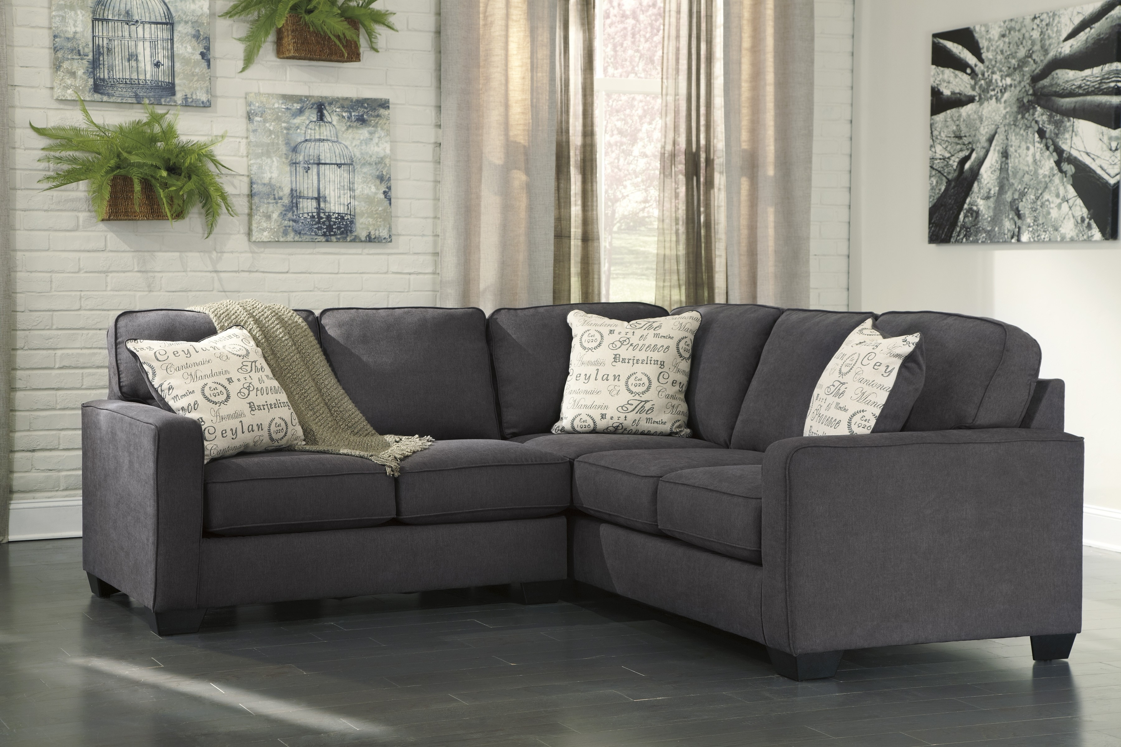 Alenya Charcoal 2 Piece Sectional Sofa For $ (View 2 of 10)