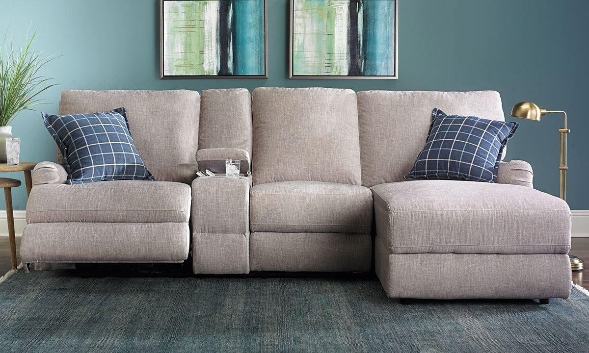 Alton Power Reclining Sectional Sofa With Chaise | The Dump Luxe with Sectional Sofas With Power Recliners (Image 1 of 10)