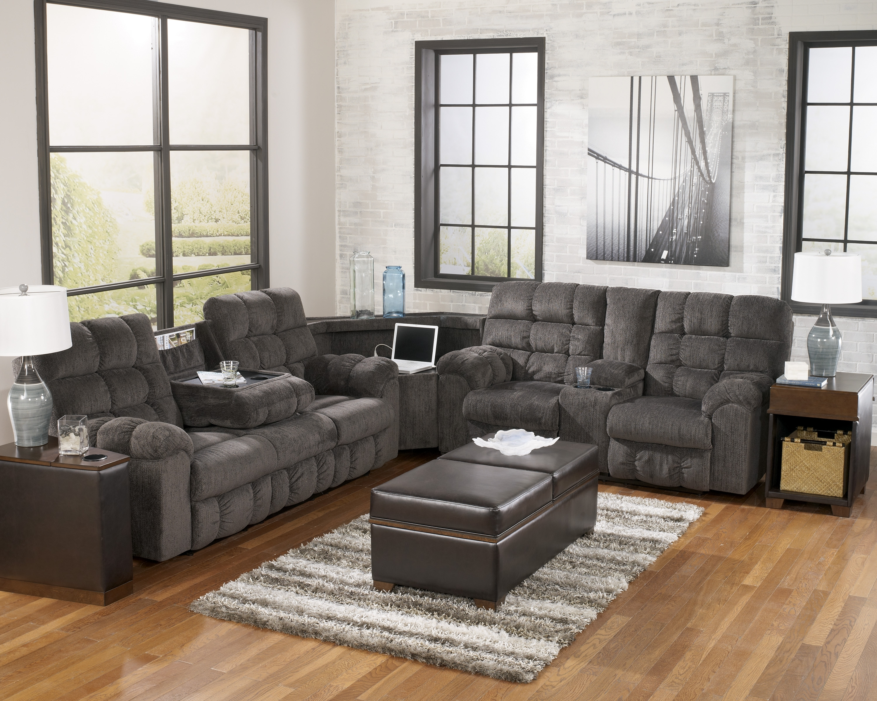 Amazing Ashley Sofas And Sectionals 67 With Additional Used for Sears Sectional Sofas (Image 1 of 10)