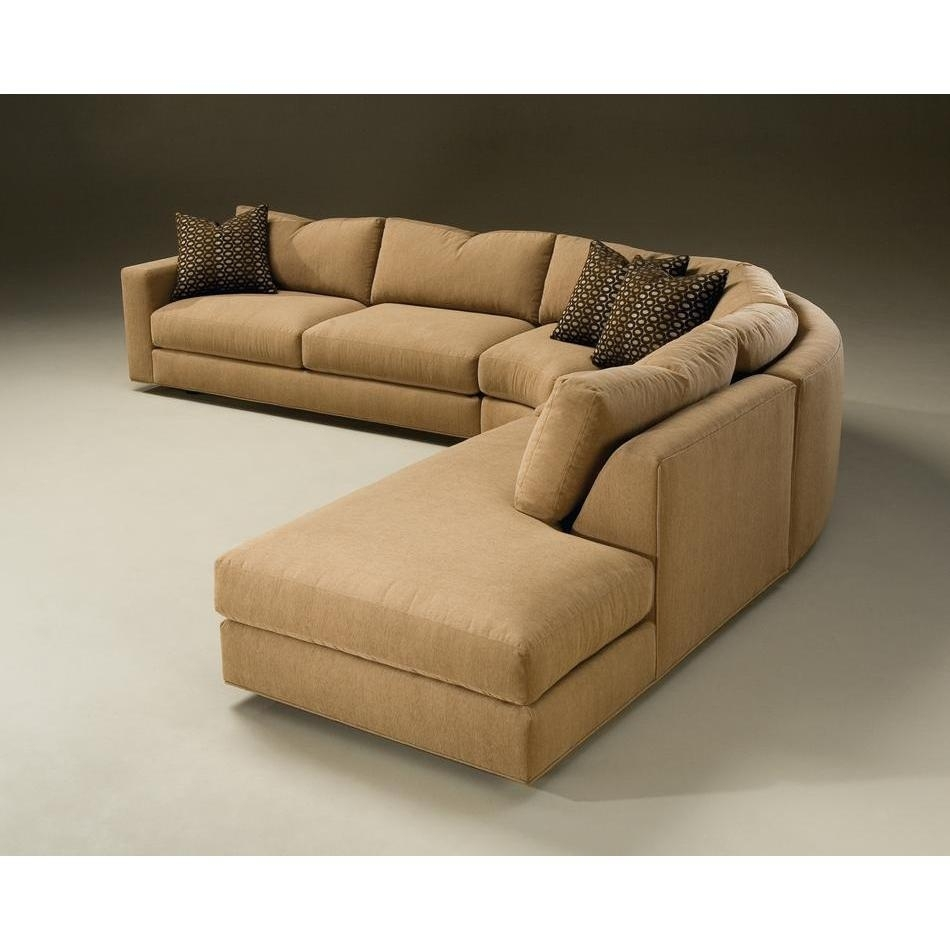 Amusing Round Sofas Sectionals 81 On Long Sectional Sofa With Chaise throughout Rounded Corner Sectional Sofas (Image 1 of 10)