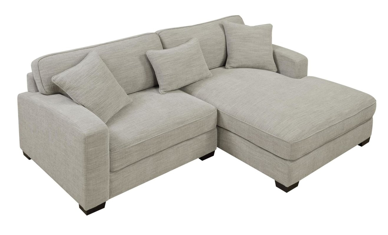 Andover Mills Chesterfield Sectional & Reviews | Wayfair within Murfreesboro Tn Sectional Sofas (Image 1 of 10)