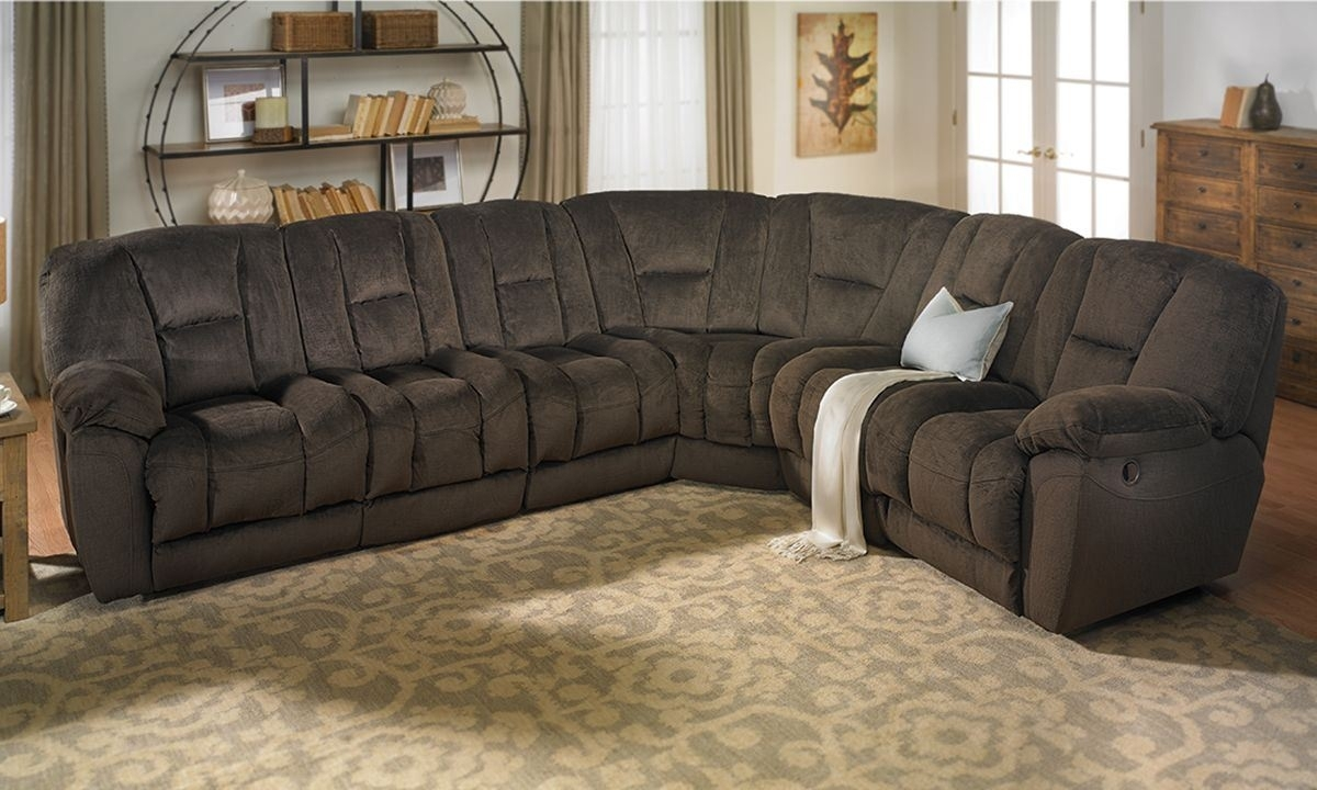 Angelica Duel Reclining Memory Foam Sectional Sofa | The Dump Throughout Sectional Sofas At The Dump (View 1 of 15)