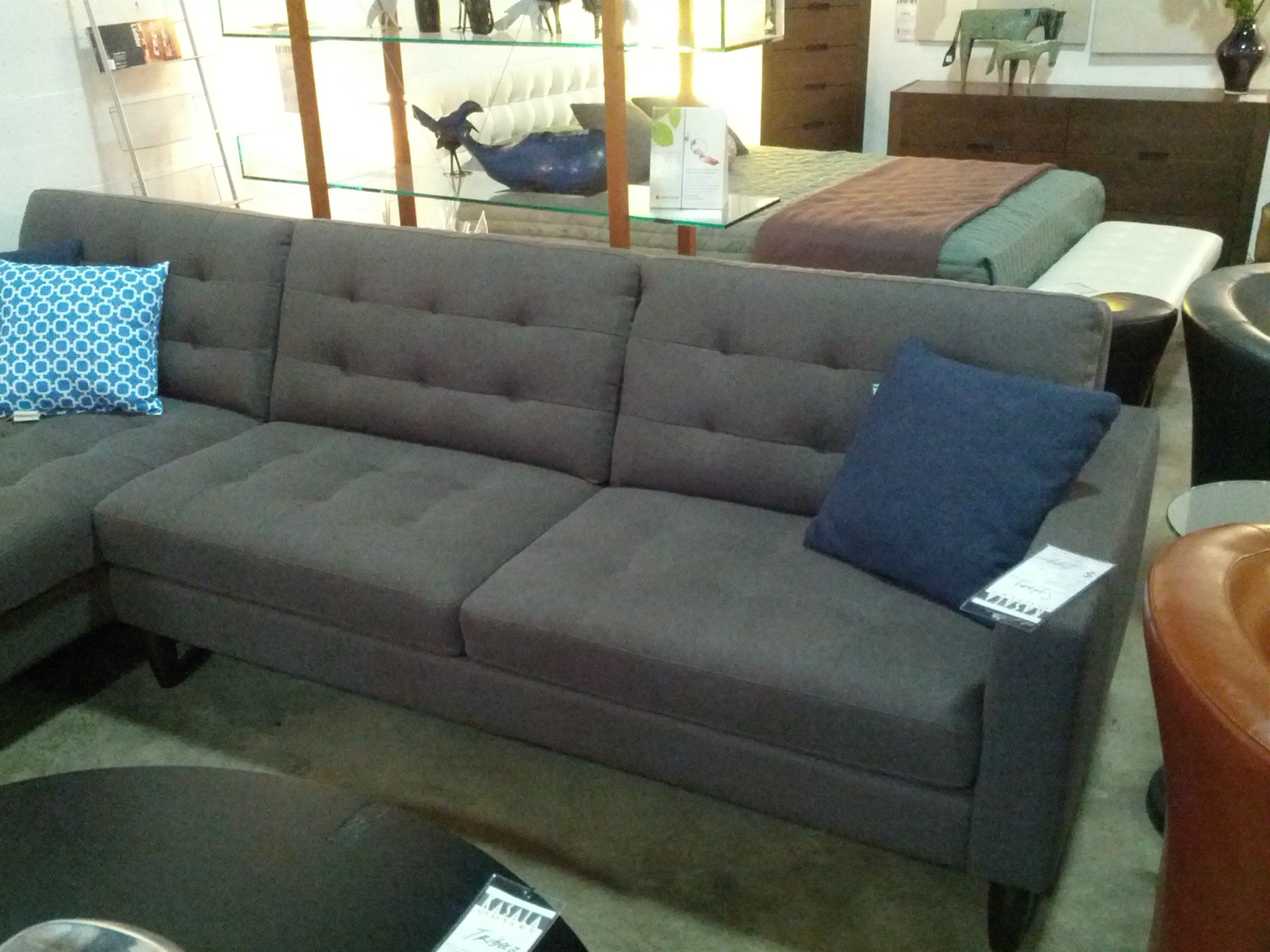 Another Gray Sectionalkasala, In Seattle | Home Decor with Seattle Sectional Sofas (Image 1 of 10)