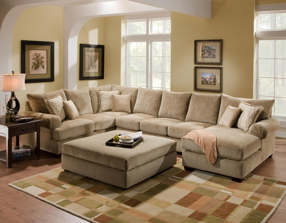 Appealing Large U Shaped Sectional Sofa 56 In Firm Sectional Sofa in Large U Shaped Sectionals (Image 1 of 15)