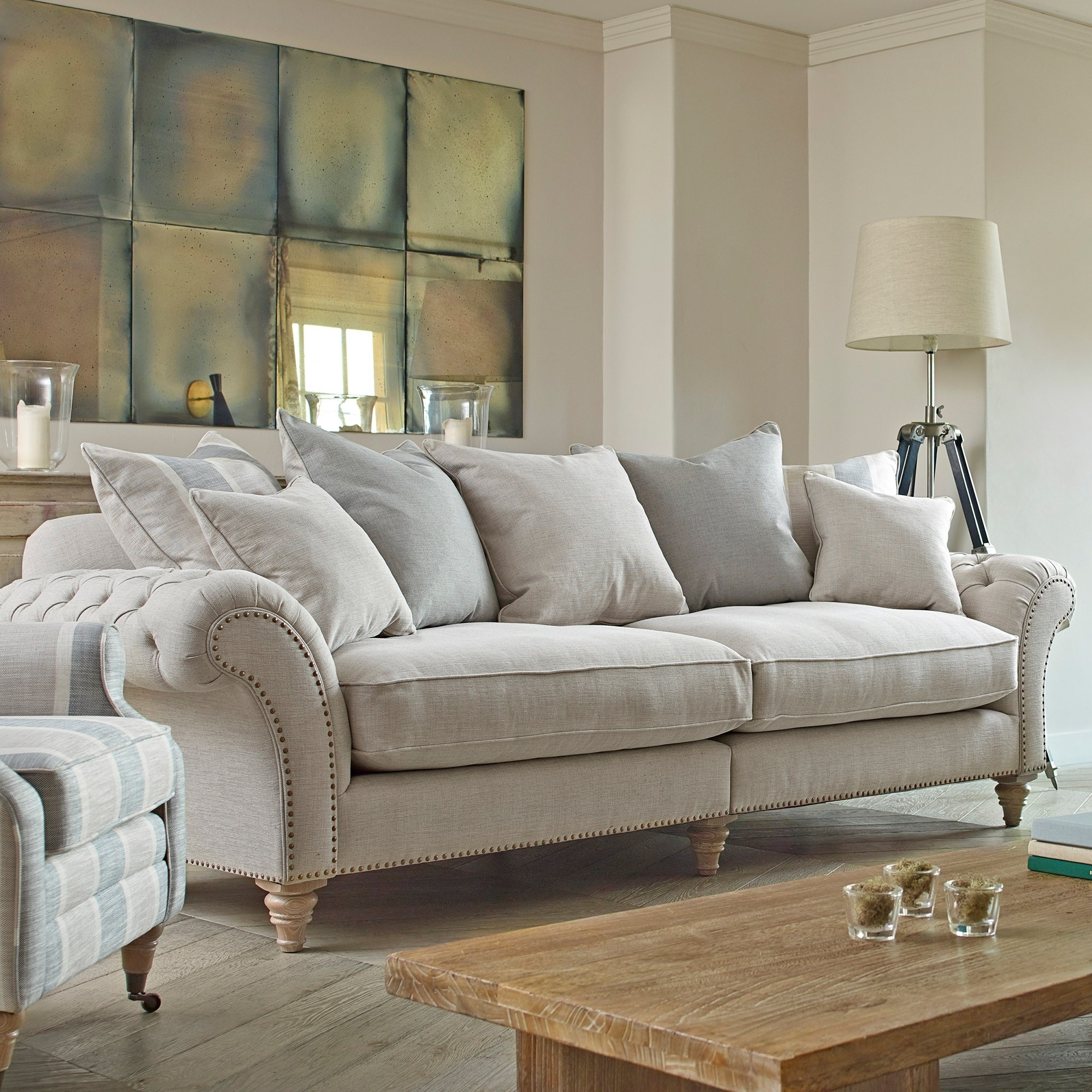 Apus Extra Large Sofa - Fabric Sofas - Cookes Furniture for Extra Large Sofas (Image 1 of 10)