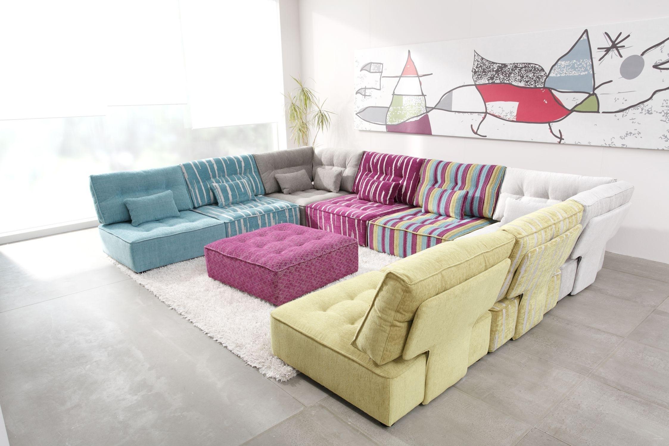 Arianne Modern Modular Sectional Sofa | Fama Sofas inside Modular Sectional Sofas (Image 3 of 10)