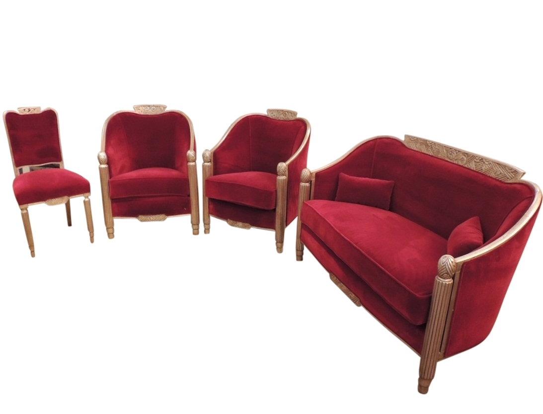 Art Deco Furniture For Sale | Seating Items | Art Deco Collection with regard to Art Deco Sofas (Image 3 of 10)