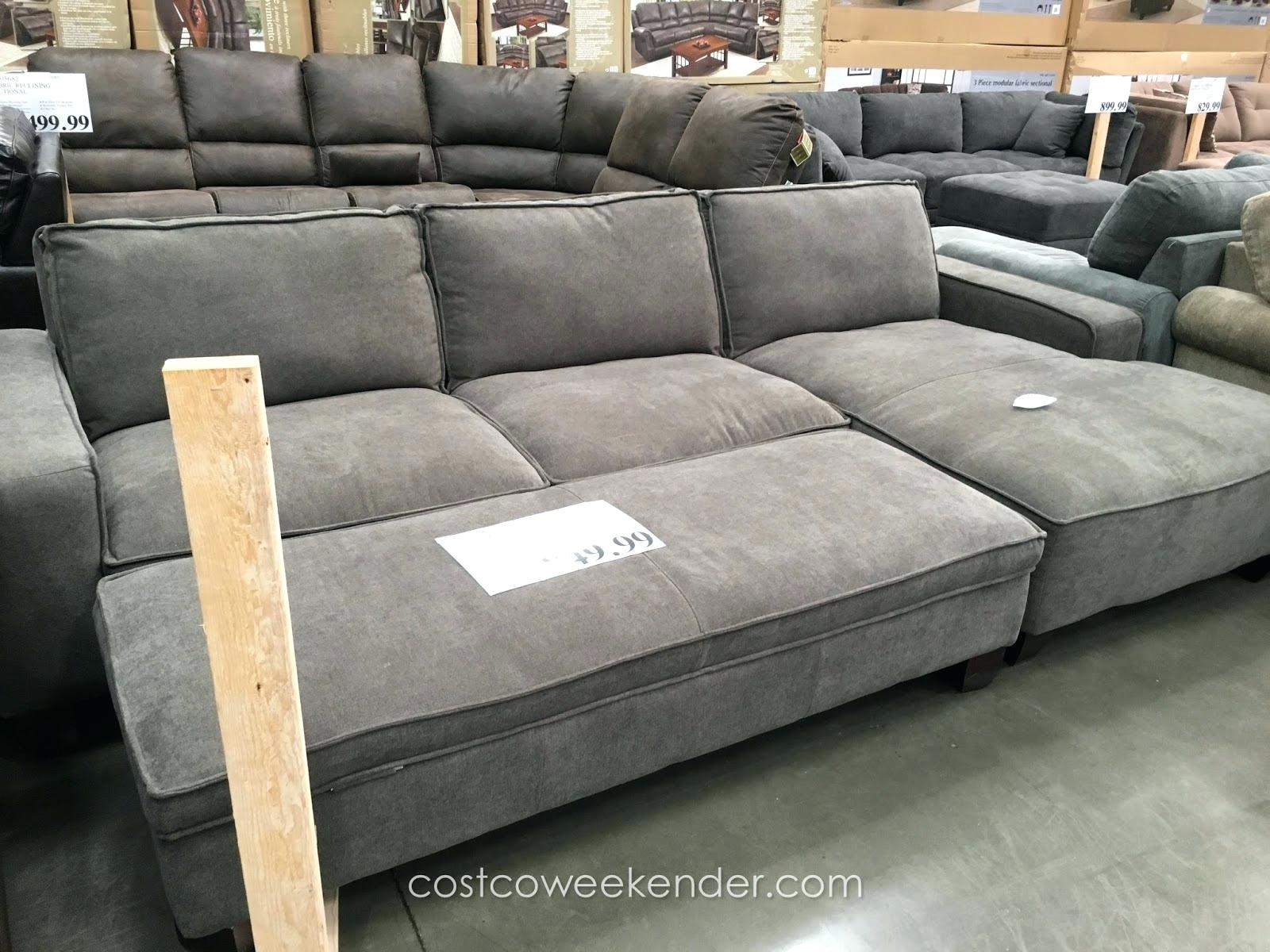 Articles With Gray Sectional Sofa Chaise Lounge Tag 3Pc Contemporary Throughout Sectional Sofas With Chaise Lounge And Ottoman (View 3 of 15)