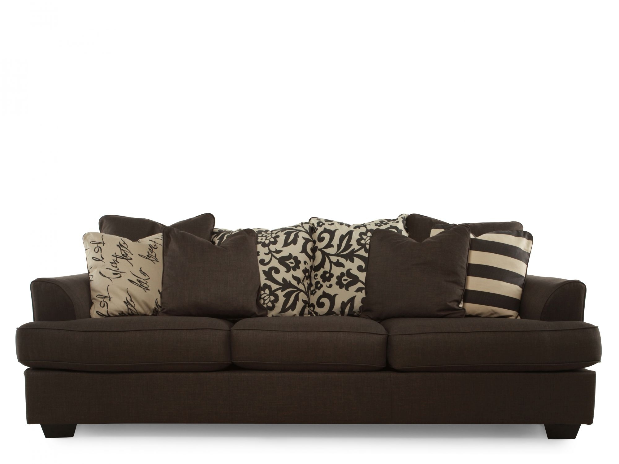 Ash C 1660138 – Ashley Alenya Charcoal Sofa | Mathis Brothers In Mathis Brothers Sectional Sofas (View 9 of 10)