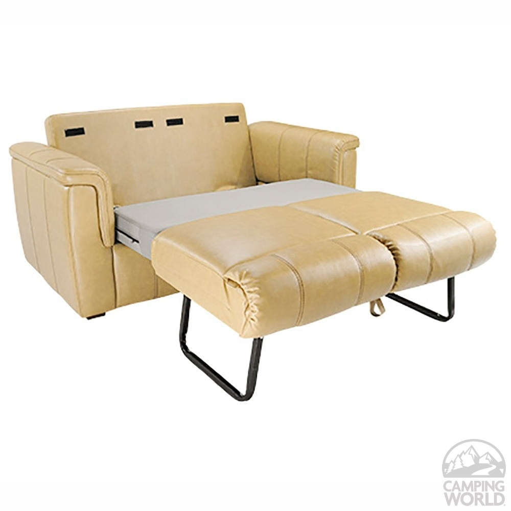 Assorted Bed Murphy Hawk Travel Trailers To Particular Rv Sofa Beds throughout Sectional Sofas for Campers (Image 2 of 10)