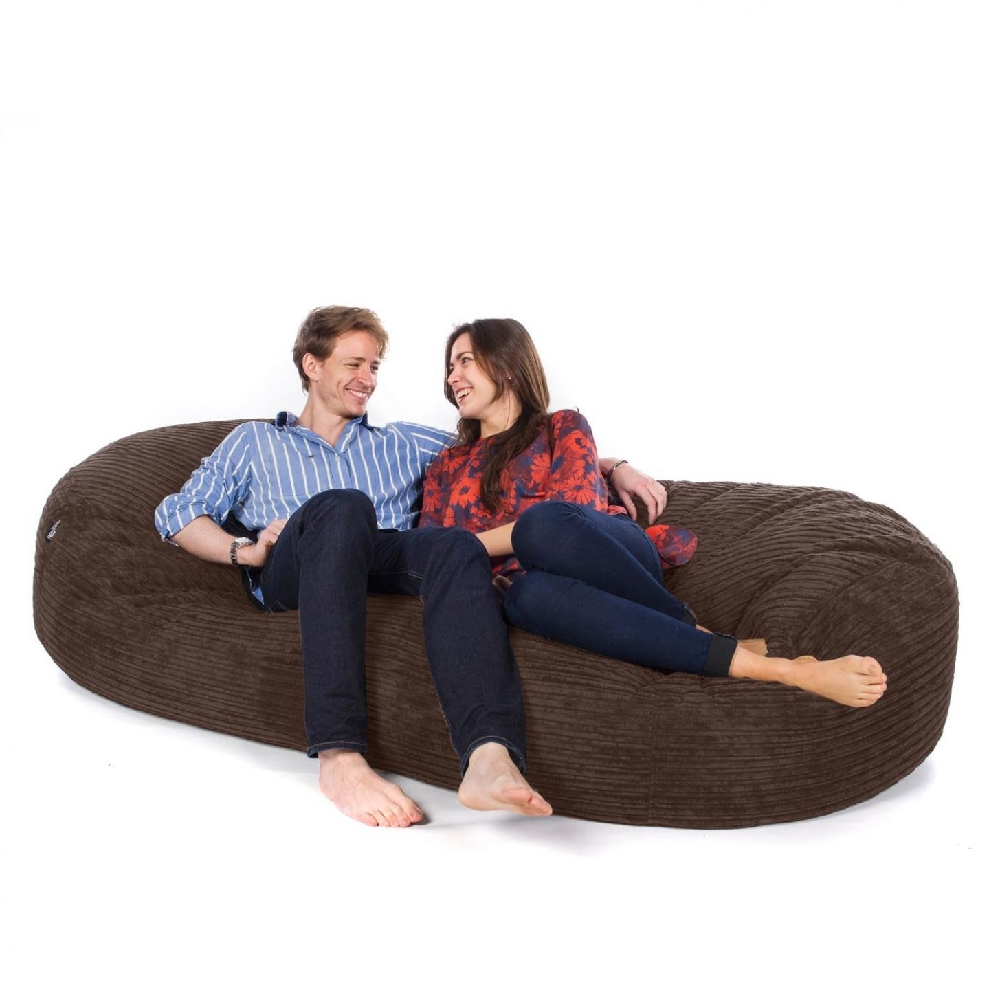 Awesome Corduroy Bean Bag Sofa Photo #1 Great Bean Bags | Mytatuaggi Within Bean Bag Sofas (View 9 of 10)