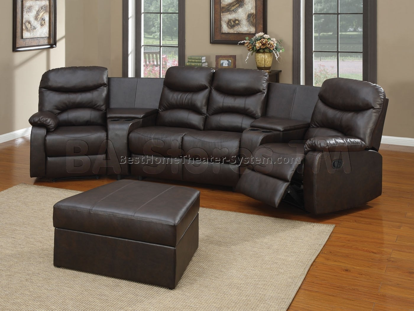 Awesome Sectional Sofa Theater Style - Mediasupload within Kanes Sectional Sofas (Image 2 of 10)