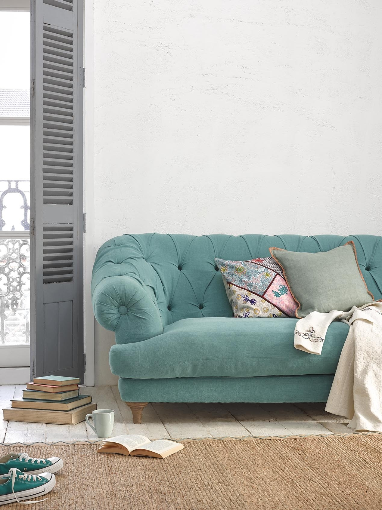 Bagsie Sofa | Chesterfield Style Sofa | Loaf with regard to Aqua Sofas (Image 3 of 10)