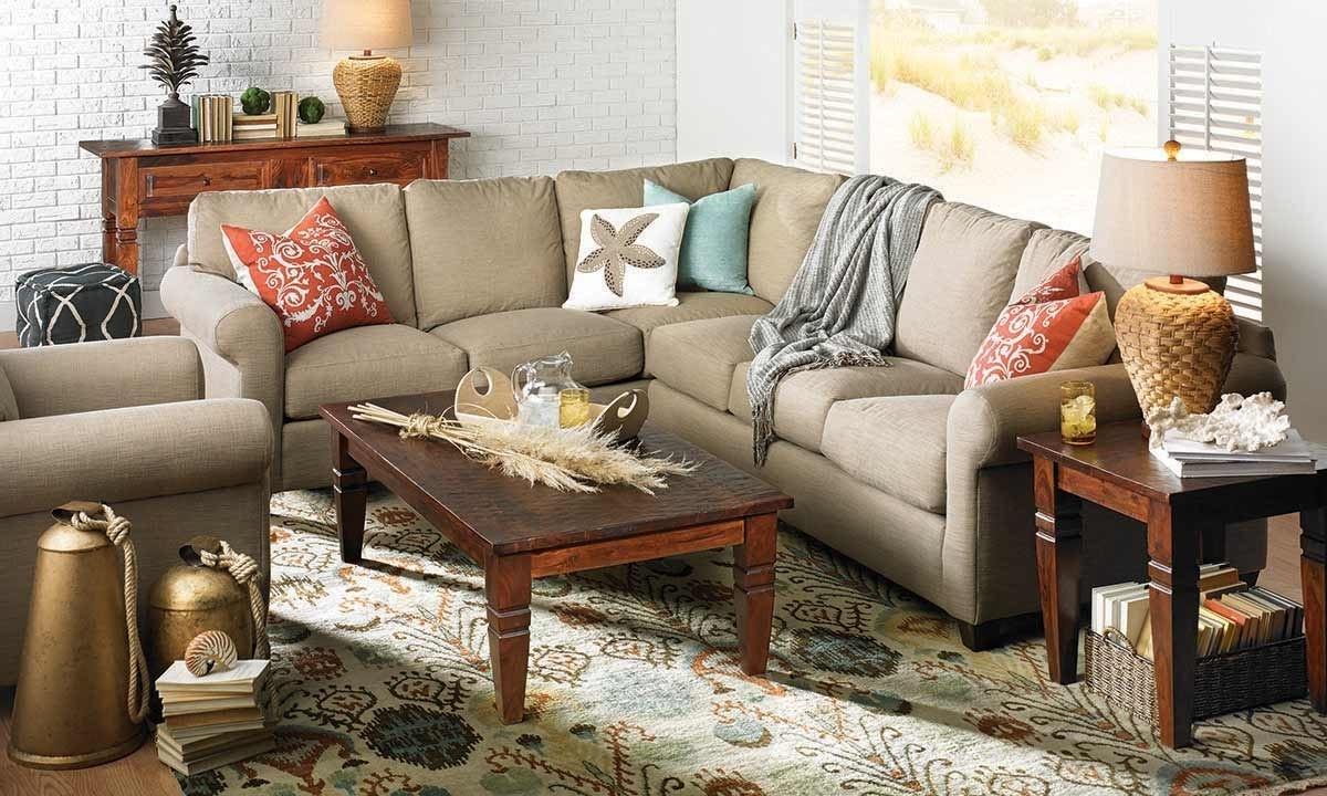 Barron Sectional Sofa | Haynes Furniture, Virginia's Furniture Store Throughout Virginia Sectional Sofas (View 2 of 10)