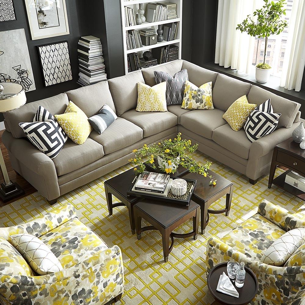 Bassett Furniture Sectional Sofas - Fjellkjeden within Sectional Sofas At Bassett (Image 4 of 15)