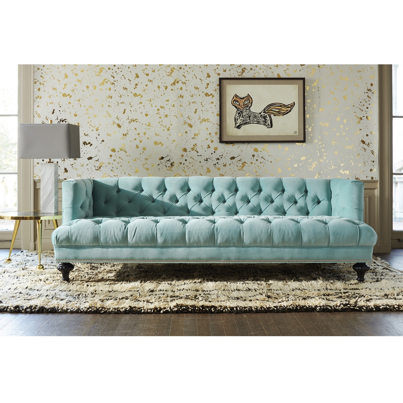 Baxter T-Arm Sofa | Modern Furniture | Jonathan Adler inside Jonathan Sofas (Image 3 of 10)
