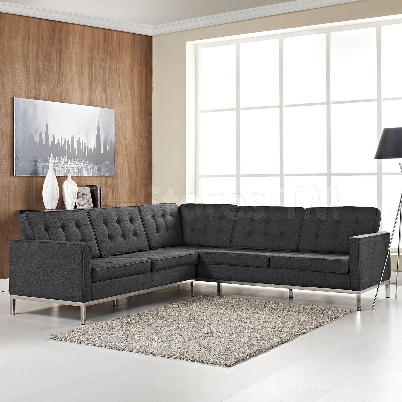 Beautiful L Shaped Sectional Sofas Contemporary Shape Sofa ~ Idolza Regarding Sleek Sectional Sofas (View 2 of 10)