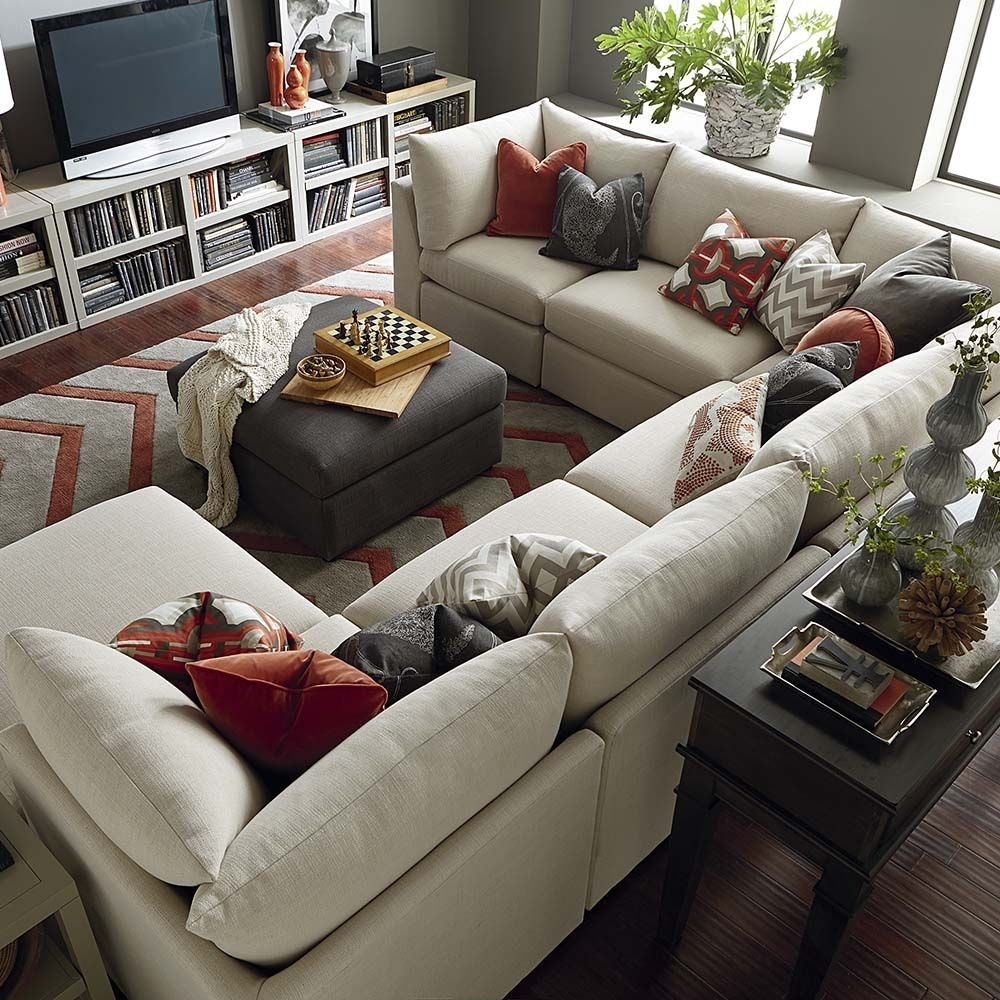 Beckham U-Shaped Sectional | Shapes, Living Rooms And Room inside U Shaped Sectionals (Image 2 of 15)