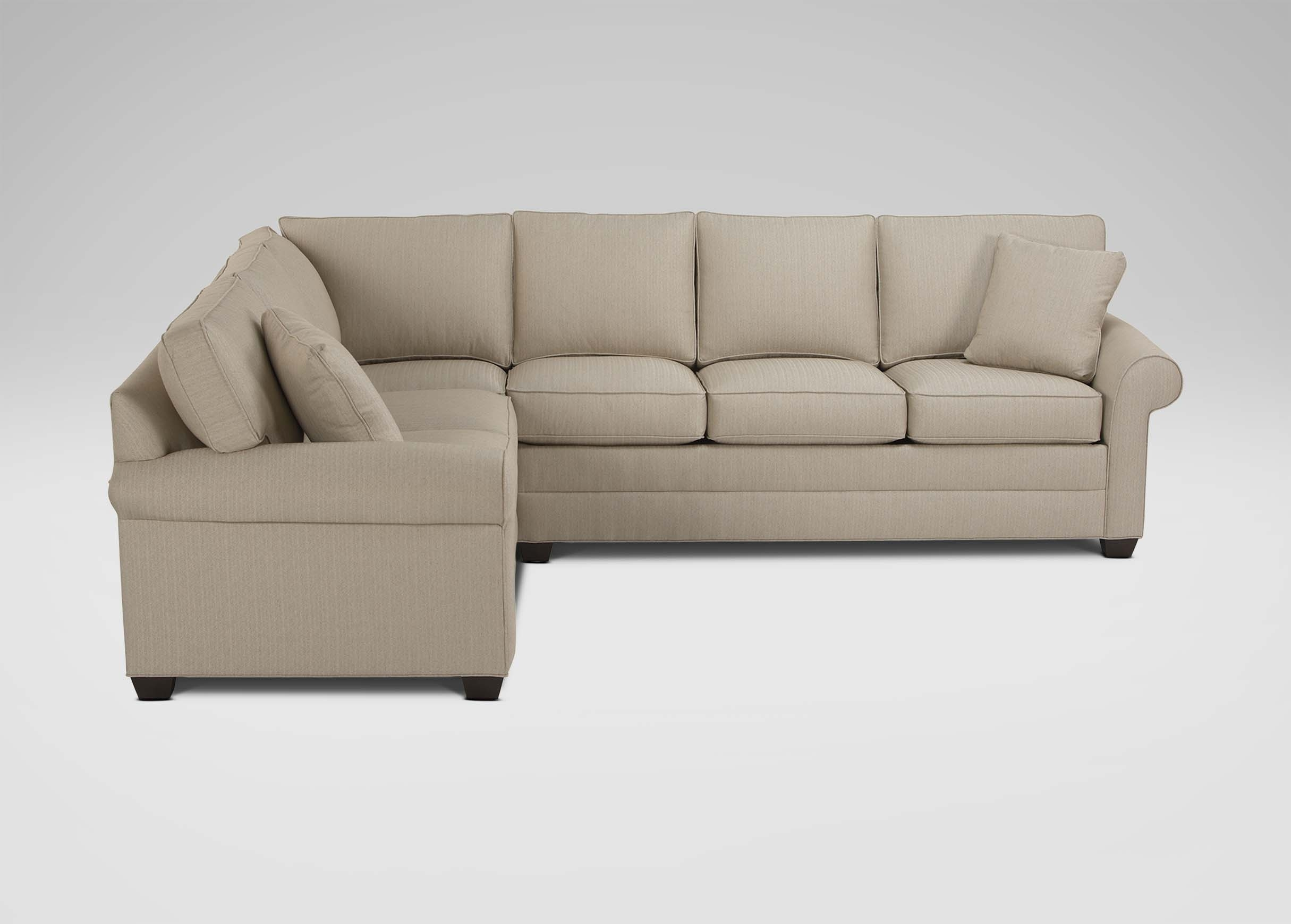 Bennett Roll-Arm Sectional | Sectionals pertaining to Sectional Sofas At Ethan Allen (Image 1 of 10)