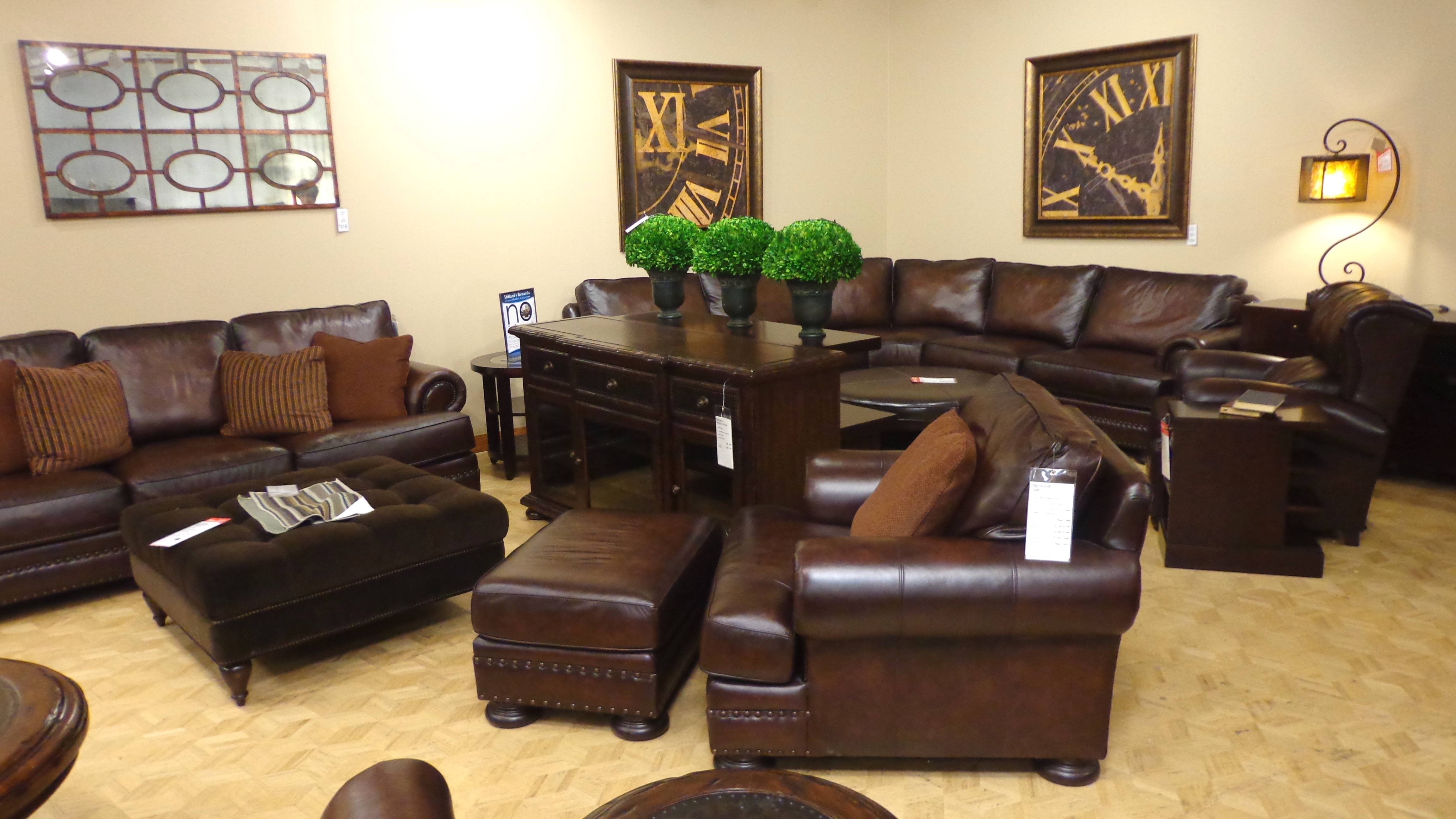 Bernhardt Leather Sofa Dillards • Leather Sofa throughout Dillards Sectional Sofas (Image 2 of 10)