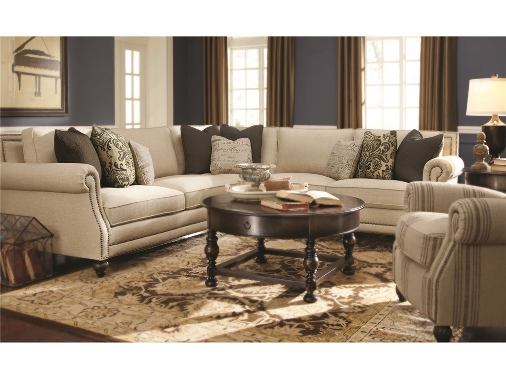 Bernhardt Living Room Brae Sectional 832270 - Furniture Fair intended for Dayton Ohio Sectional Sofas (Image 2 of 10)