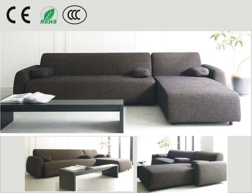Best Japanese Style Fabric Sofa Small Apartment Sofa Corner Sofa within Apartment Sofas (Image 4 of 10)